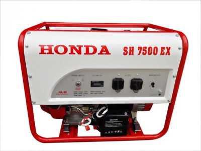 Máy phát điện Honda chạy xăng 6KW, đề nổ và ắc quy