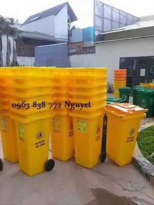 Phân phối thùng rác 240L - 660L giá siêu hấp dẫn.
