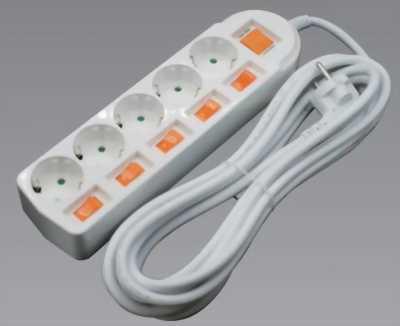 Ổ điện liền dây Dosel DM2225