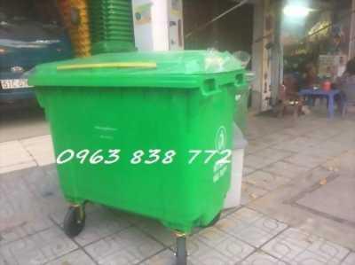 Thùng rác 240l - thùng rác 120L - thùng rác 660L