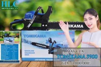 Giảm giá khuyến mại khi mua máy cưa xích tomikama 5900 trên Dumiho