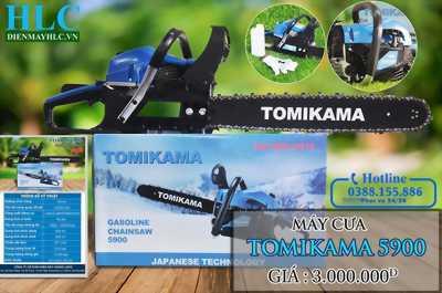 Máy cưa xích tomikama 5900 giảm giá trên Dumiho