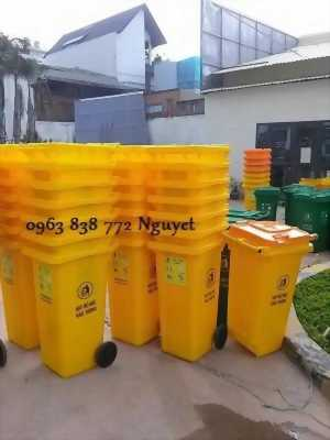 Thùng rác 240 lít -  thùng rác 660L - thùng rác nhựa