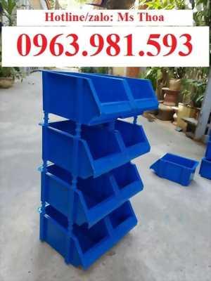 Kệ dụng cụ đựng phụ tùng, khay đựng linh kiện, khay nhựa xếp tầng, kệ dụng cụ nhựa Hà Nội