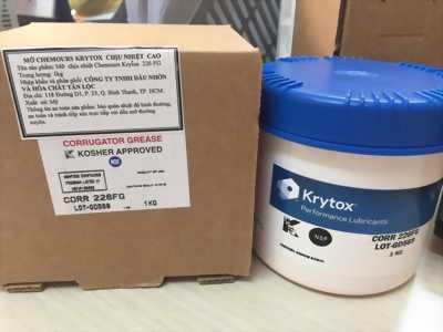 Phân phối sỉ lẻ dầu mỡ chịu nhiệt Chemours Krytox hàng USA