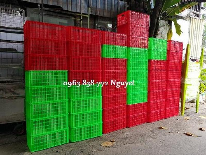 Bán sóng nhựa hở chữ nhật đựng hàng/ Lh 0963 838 772