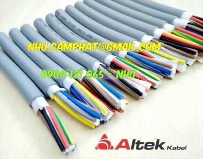 Chuyên cung cấp cáp điều khiển altek kabel nhiều lõi