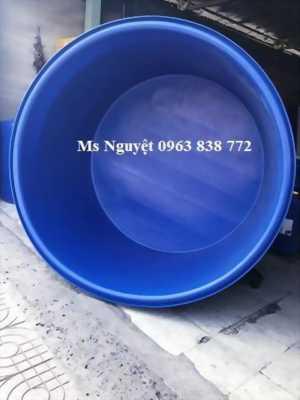 Thùng nhựa tròn 1000 lít nuôi cá giống /Lh 0963838772