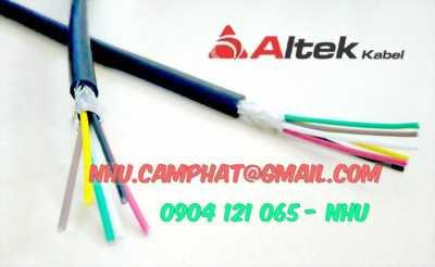 Sản phẩm cáp điều khiển nhập khẩu hiệu altek kabel