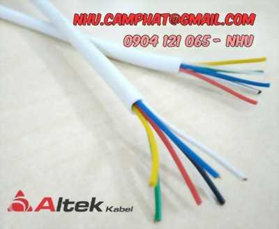 Cáp báo cháy altek kabel nhập khâtu tiêu chuẩn CE