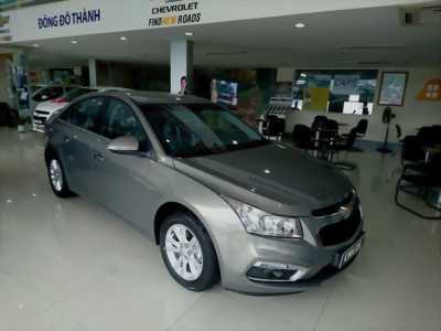 Chevrolet Cruze số sàn 2017, hỗ trợ ngân hàng 100% giá trị xe