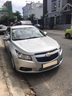 Bán xe Chevrolet Cruze đời 2013 số sàn màu bạc,xe zin đẹp bao lỗi