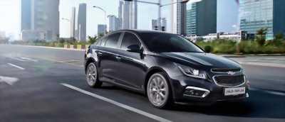 Chevrolet Cruze hỗ trợ vay 100%, giảm ngay 60tr