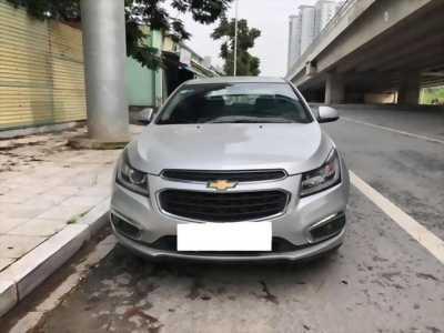 Bán nhanh Chevrolet Cruze Ltz 2017 số tự động, màu Bạc.