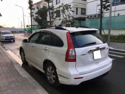 Cần bán CRV 2011 2.4, màu trắng, mới như từ hãng về