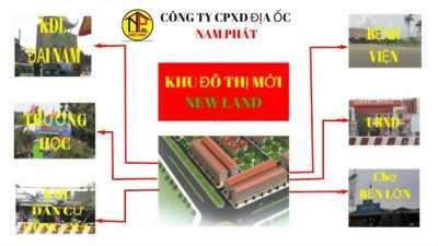 Đất nền dự án New Land,gần KDL Đại Nam,mặt tiền QL13.