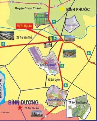 """""""Đất Nền khu công nghiệp Bàu Bàng - Mặt Tiền QL13 """""""