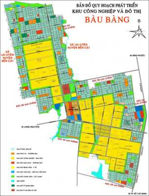 Khu công nghiệp Bàu Bàng – Bình Dương mở bán đất + Nhà phố.
