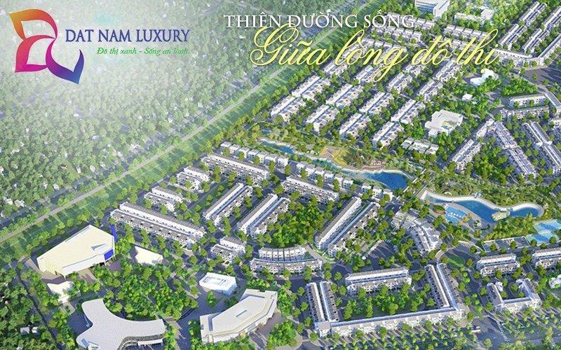 Bán đất nền Dự Án KDC mới Đất Nam Luxurry, SHR, Thổ cư 100%