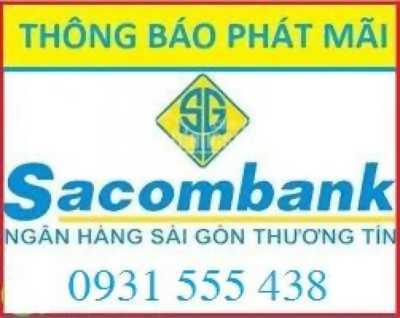 Thông báo Sacombank phát mãi 15 nền đất và 4 lô góc liền kề bến xe Miền Tây, Hồ Chí Minh