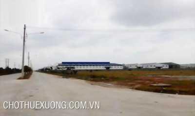 Bán gấp đất KCN Bình Xuyên Vĩnh Phúc DT 5050m2 giá 57 đô/m2 sổ đỏ chính chủ