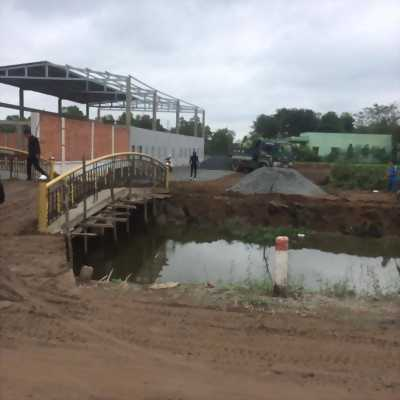 Đất thổ cư 335tr/nền 100m2 đã lên thổ cư  ngay KCN Cầu Tràm