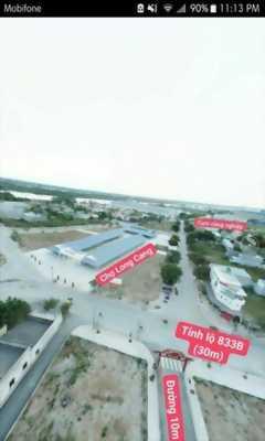 Bán đất đối diện chợ Long Cang - Cần Đước 100m2/700 triệu SHR