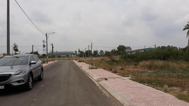 Bán 4x 21,5m đất nền dự án Nam Phong, đường 4m, lề 2m, ấp 2 ,xã Long Hòa, huyện Cần Đước ,Long An