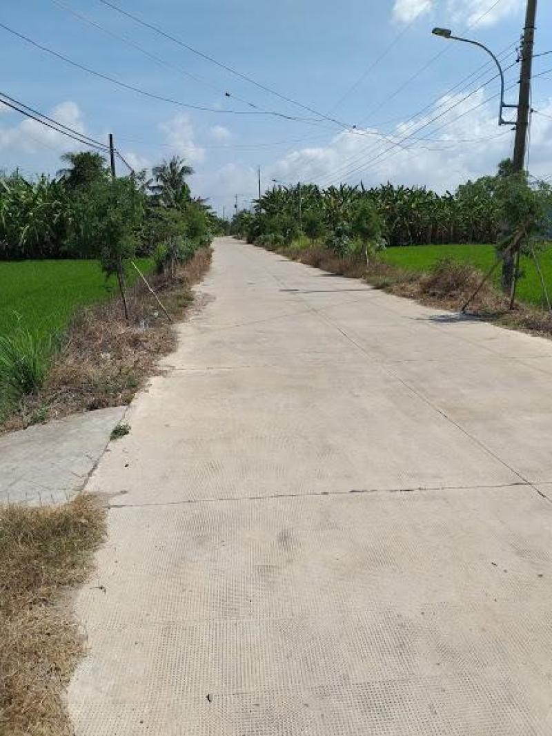 Bán 1600m2 đất vườn mặt tiền đường Nguyễn Thị Bài, gần cầu Mồng Gà