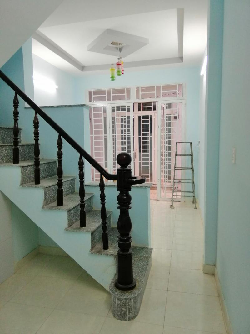 Bán nhà mới xây xã Long Thượng, Cần Giuộc, trệt, lầu, 2PN, giá rất tốt cho đầu tư 550 triệu