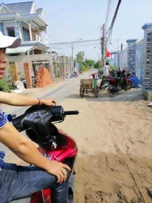 Bán đất mặt tiền 125m2 thổ cư đường Công Đồng Lộc Hậu, Cần Giuộc, Long An, đường xe tải thoải mái