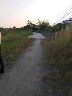 Bán đất góc 2 mặt tiền hẻm thông đường Cộng Đồng Lộc Hậu, Mỹ Lộc, Cần Giuộc, Long An