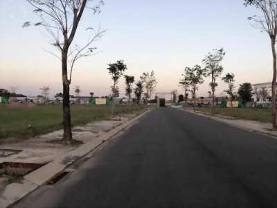 Bán 99m2 đất thổ cư 2 góc mặt tiền đường Đinh Đức Thiện và TL 835B, Phước Lý, Cần Giuộc, Long An.