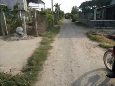 Bán 129m2 đất thổ cư, mặt tiền đường Dương Thị Hai, Mỹ Lộc, Cần Giuộc, Long An.