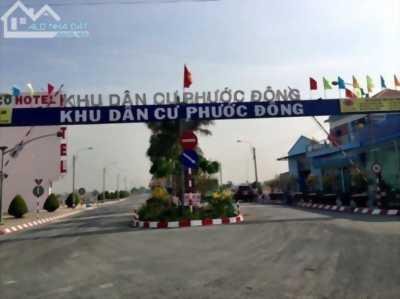 Bán đất góc 2 mặt tiền đường khu dân cư Phước Đông, xã Phước Đông, huyện Cần Đước, tỉnh Long An.