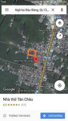 Đất ngay quốc lộ 13 gần các KCN lớn như KCN Chơn Thành.