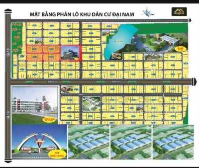 Dự án khu dân cư Đại Nam, vị trí đắc địa Minh Hưng, Chơn Thành, Bình Phước Chỉ với 600tr