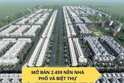 KDC Đại Nam mở bán khu phố thương mại, giá F1, ưu đãi khủng, sinh lời lớn, LH: 0908995717