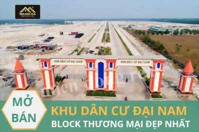 Chính Thức Động Thổ TTTM rộng 1,2ha thuộc KDC Đại Nam