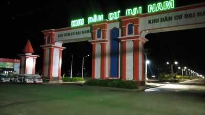 Mở Bán dự án KDC Đại Nam, block mặt tiền TTTM đang xây dựng