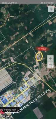 Thanh Lý 3 Nền Đất Cạnh Bên Kcn Minh Hưng 350tr/ nền. 100m2 Thổ Cư