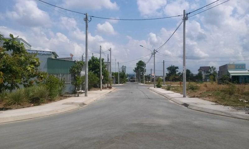 Gần UBND xã Tân An Hội đất Thổ Cư  Đất này xây dựng tự do. Diện tích 100m2