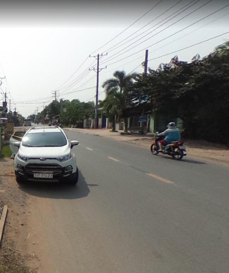Đất Củ Chi mặt tiền đường Nguyễn Thị Lắng, 100m2, 900tr ,SHR