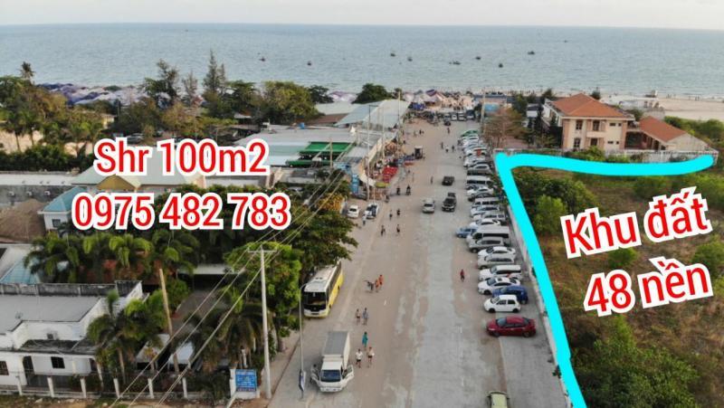 Mặt tiền kinh doanh trung tâm Lộc An, Hồ tràm. SHR 150m2 chỉ 899 triệu
