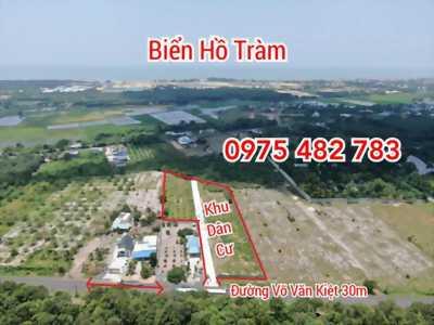 Đất nền ven biển Hồ Tràm, MT Võ Văn Kiệt. SHR thổ cư 150m2. LH 0975.482.783