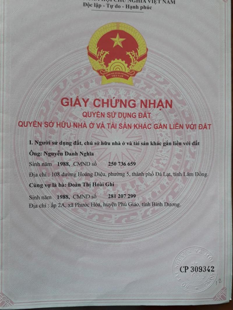 Bán đất công thành khu dân cư Thuận Phú ngay vòng xoay hồ suối cam