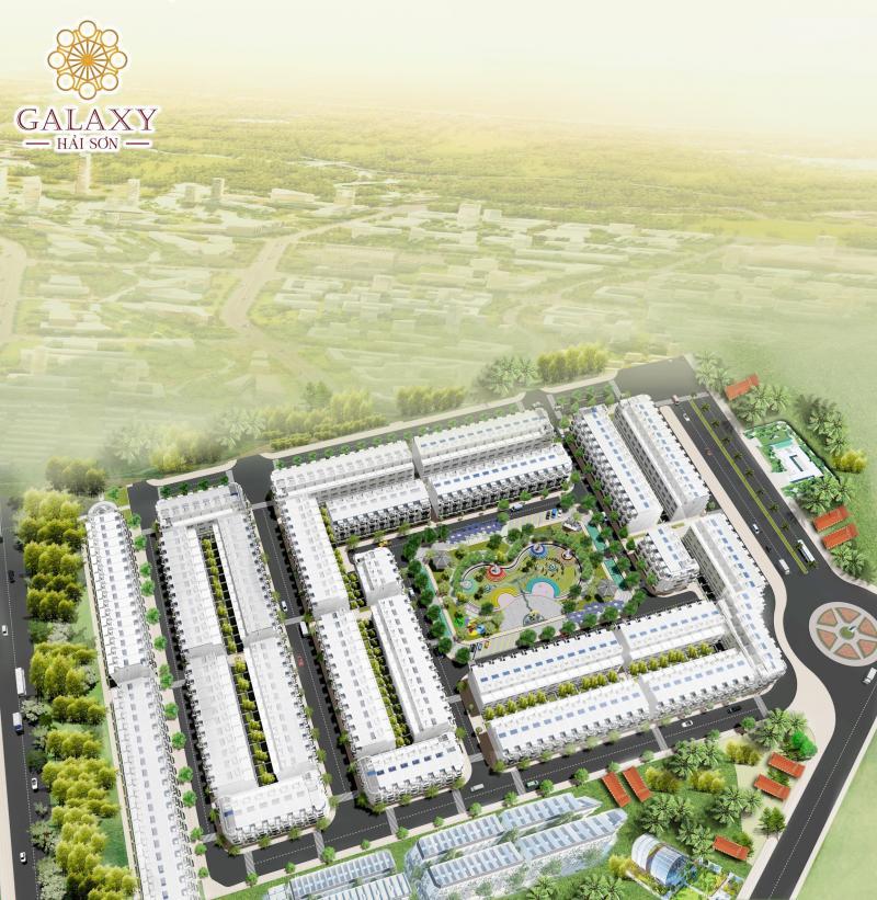 Dự án Galaxy Hải Sơn- Khu dân cư chuẩn 5 sao- Đức Hòa- Long An chỉ 500tr/nền