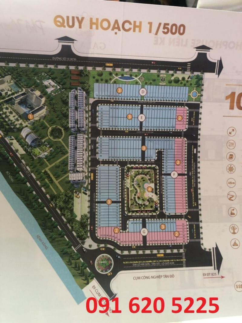 Sang lại suất đầu tư nội bộ dự án Galaxy Hải Sơn CK14% ngay trung tâm thị trấn Đức Hòa