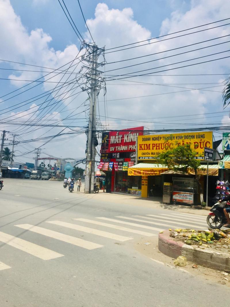 Chính chủ cần bán gấp lô đất gần ngã ba trung tâm thị trấn Đức Hòa