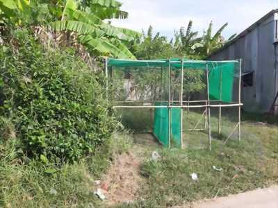 Bán miếng đất 53,9m2 thổ cư, ngay ngã ba Cổng Giồng Đình, Gò Công Đông, Tiền Giang.